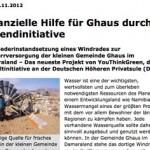 Allgemeine Zeitung, 09.11.2012