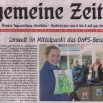 Allgemeine Zeitung, 15.08.2012