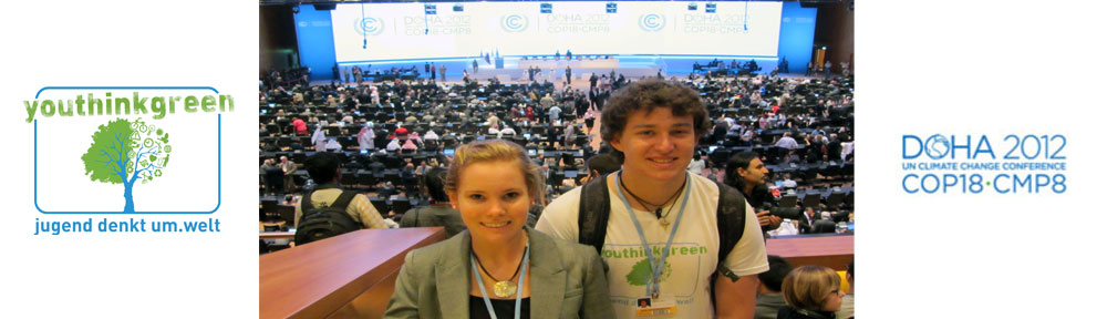 Nandi and Alex at COP 18