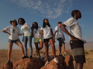 Our team for the task at hand - YTG Namibia