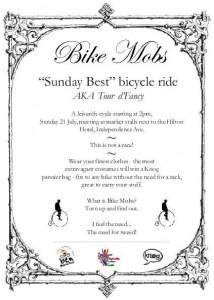 Bike Mobs flyer
