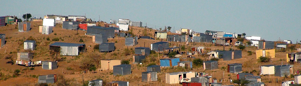 Uyelele - Shacks in Namibia