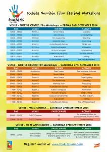 ecoKids Namibia Film Festival Workshops